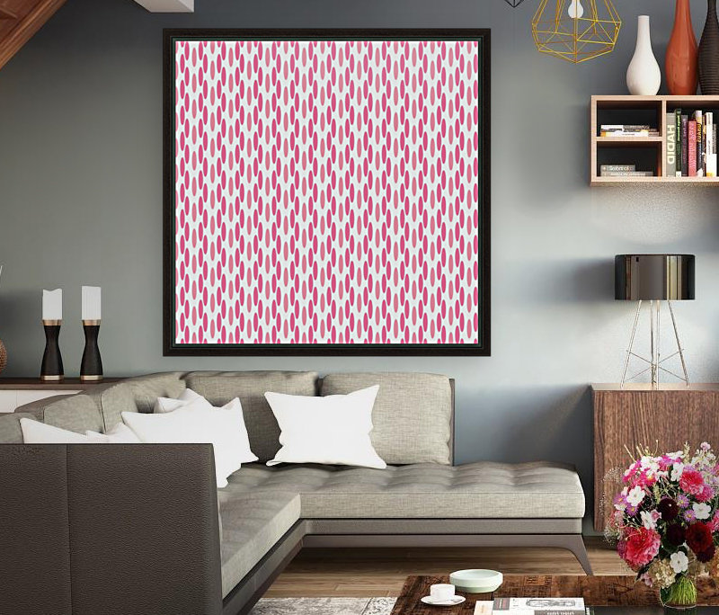 Pink Seamless Pattern Artwork  Art