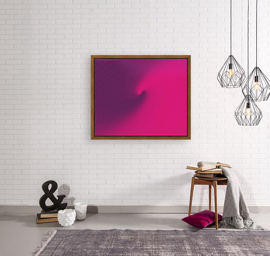 Abstract Purple & Blue Art  Art