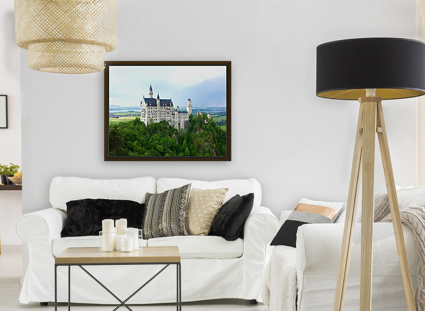 Nueschwanstein Castle  Art