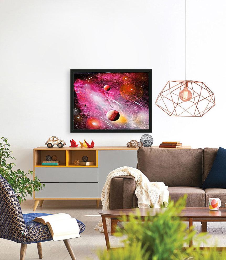 Fish galaxy  Art