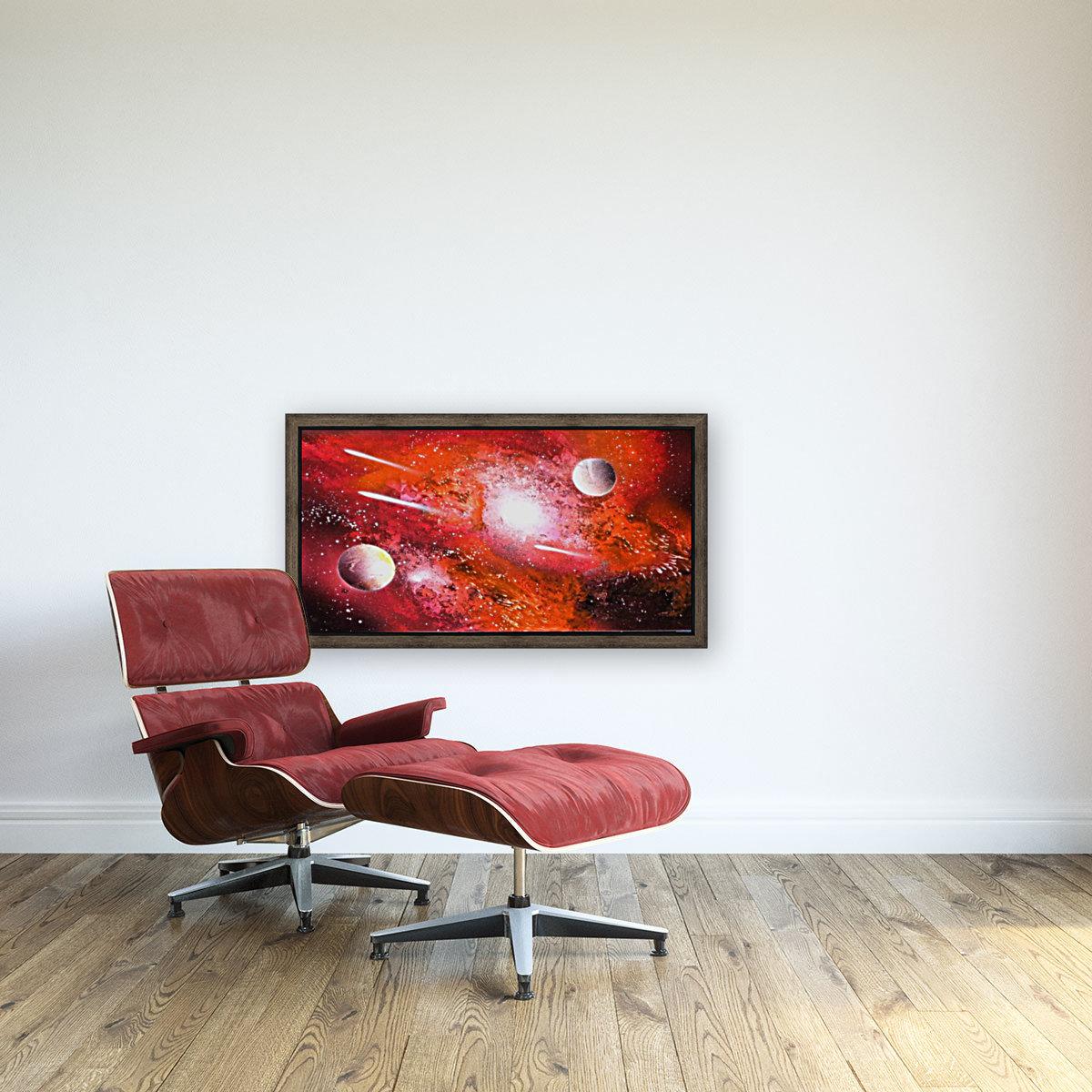 Marigold galaxy  Art