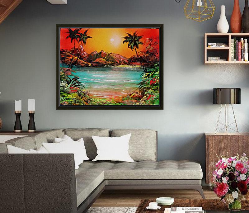 Jungle beach  Art