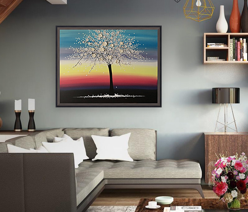 Colorful Blooms  Art