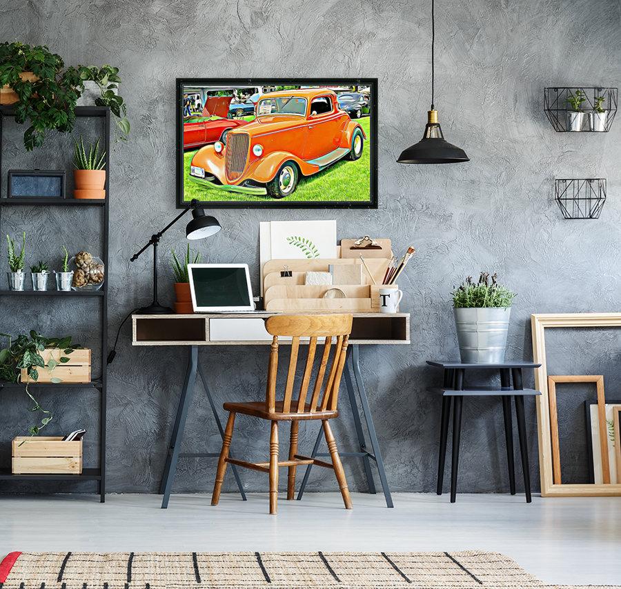 hot rod classic car   Art