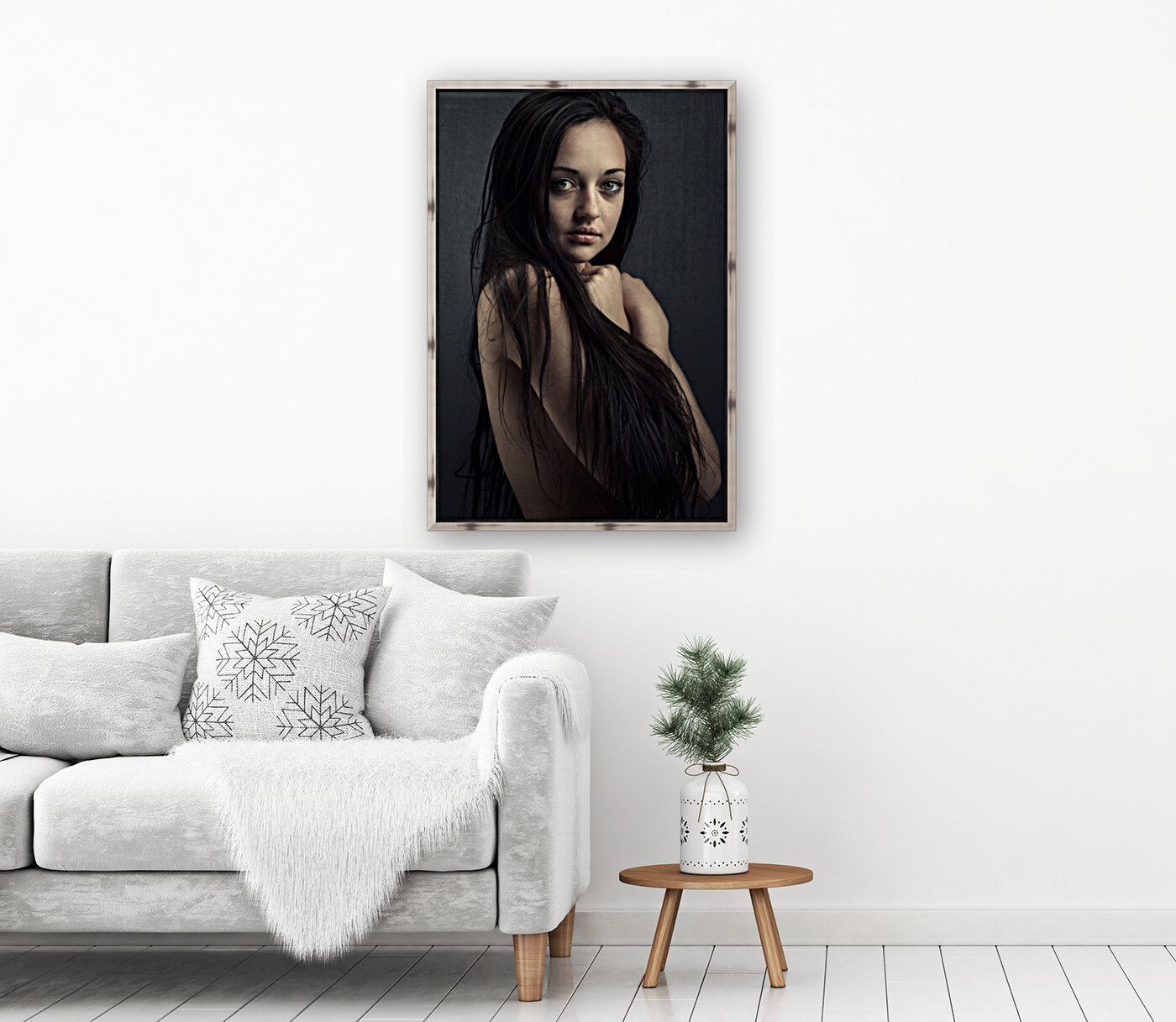 Innocent young woman  Art