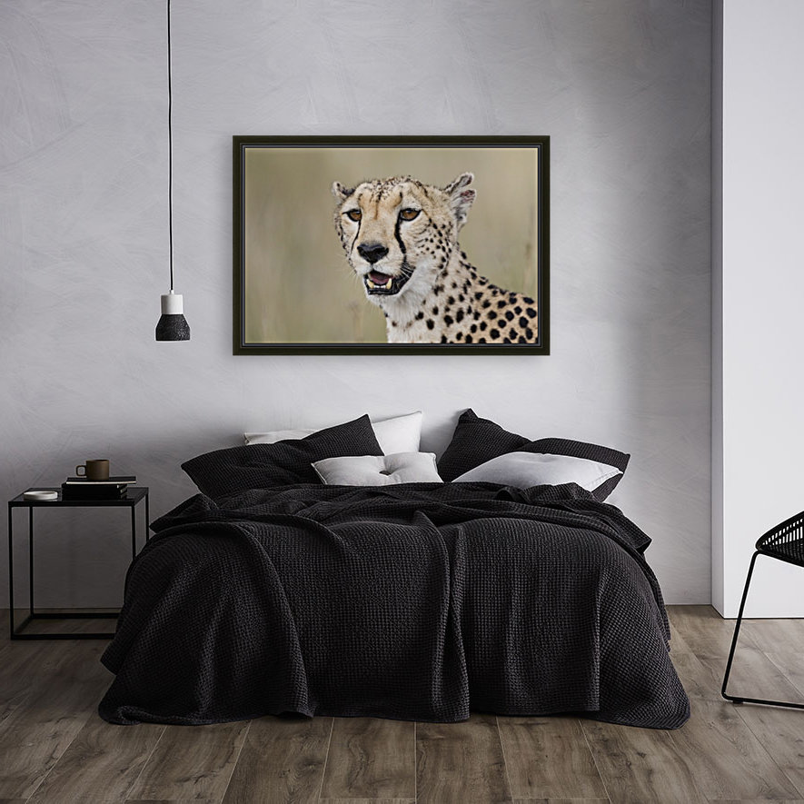 Cheetah Portrait by www.jadupontphoto.com  Art