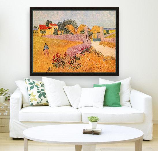 Farmhouse in Provence by Van Gogh  Art