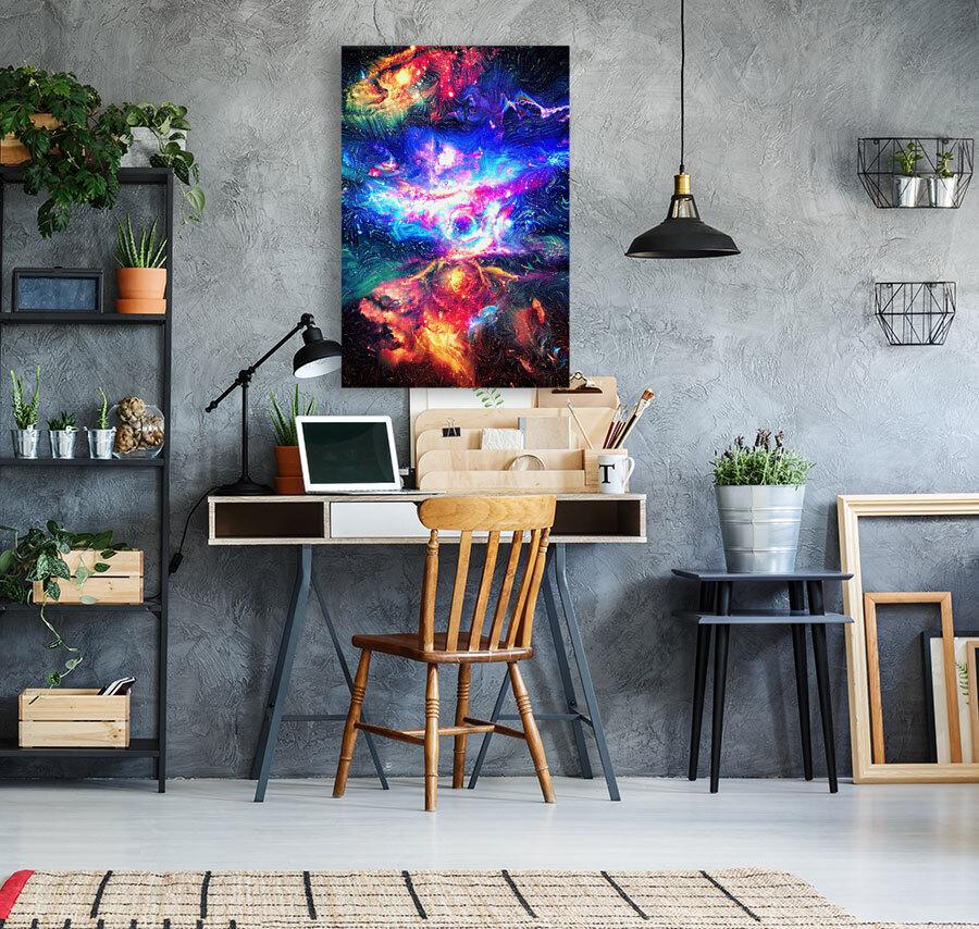 Colorful Galaxy   Art