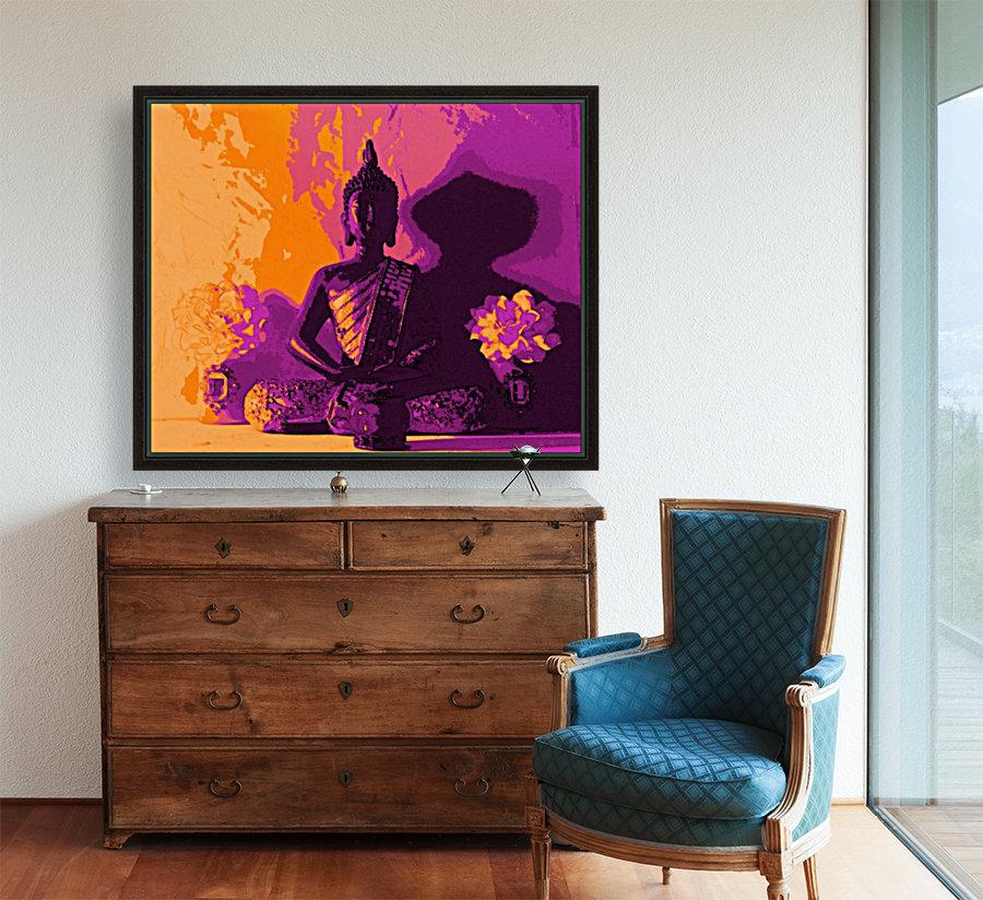 Buddha Altar -- Sunset Colors  Art