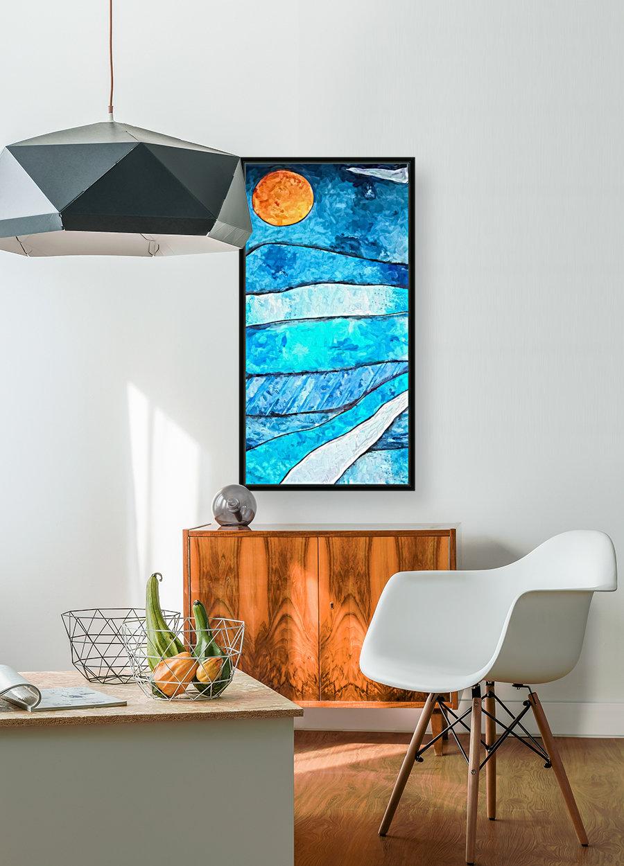 Blue Sunrise  Art