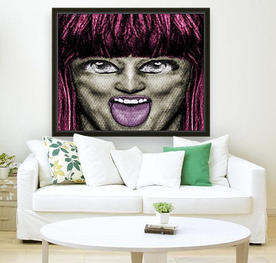 Daring Pop Teen Portrait  Art