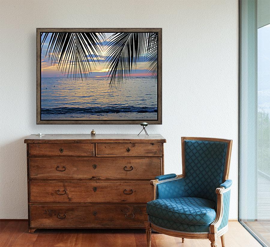 Tropical Sunset 4  Art