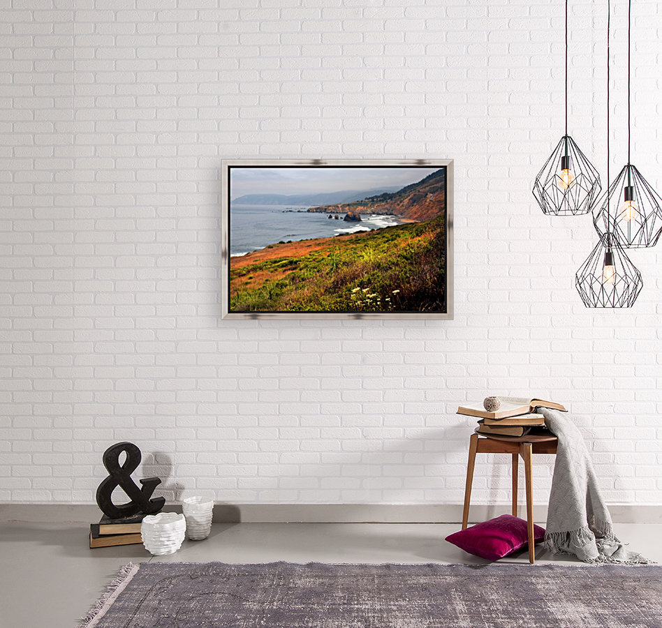 Coastal Views with Floating Frame