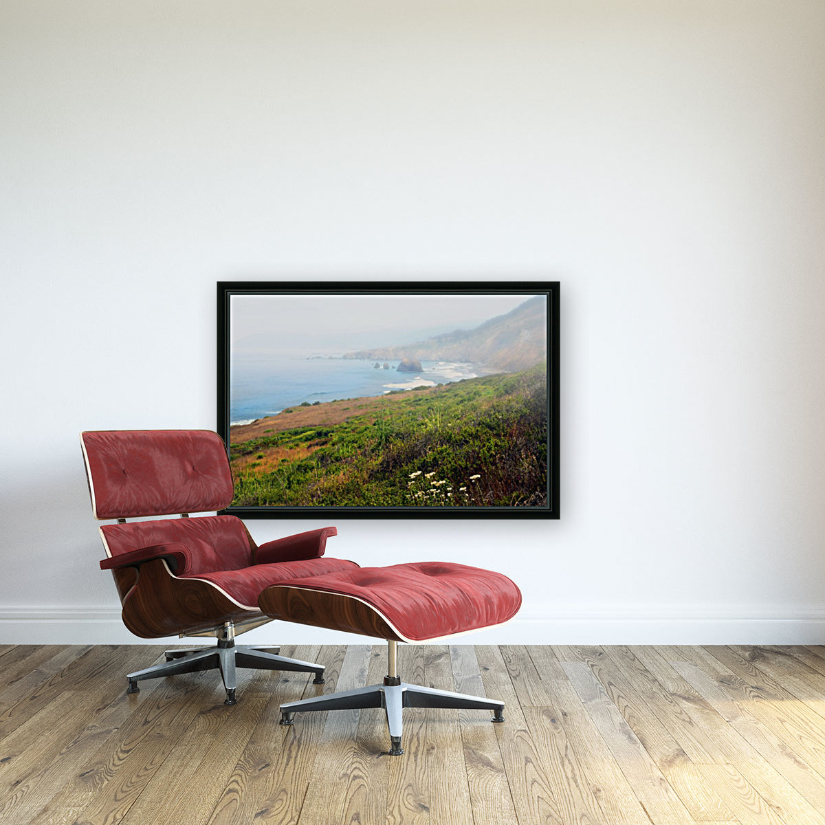 Coastal Views Fog  Art