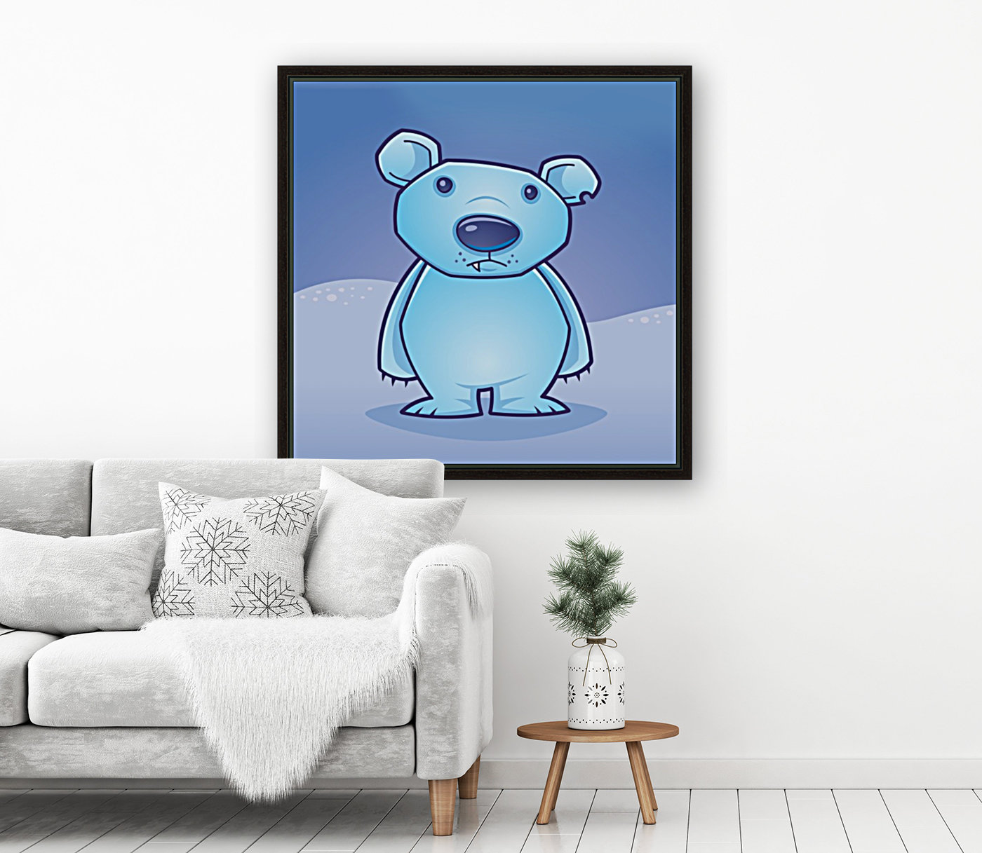 Polar Bear Cub  Art
