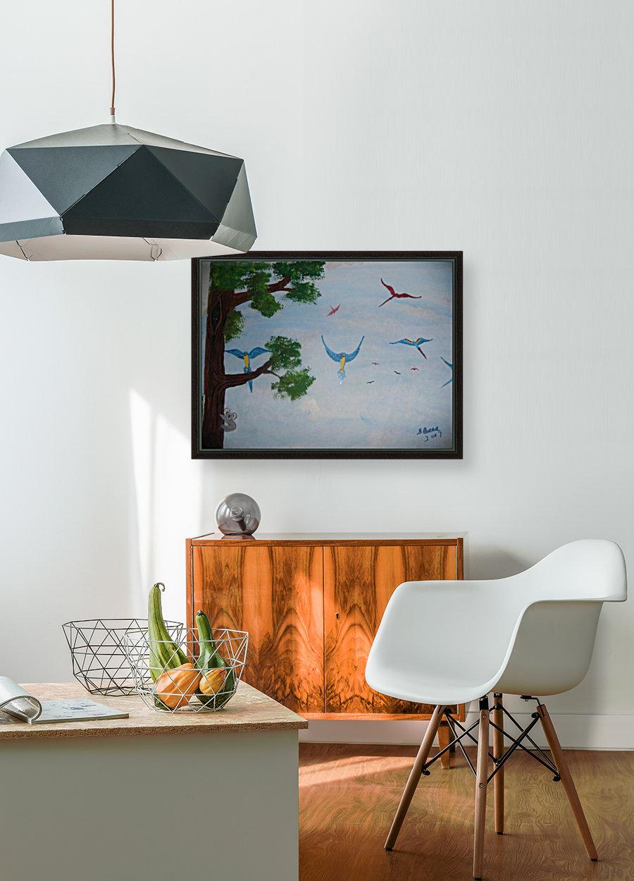Macaw family  Art