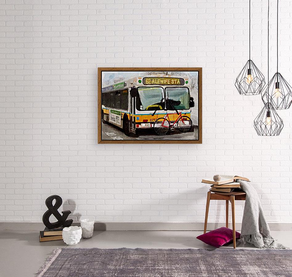 MBTA 62 Bus  Art