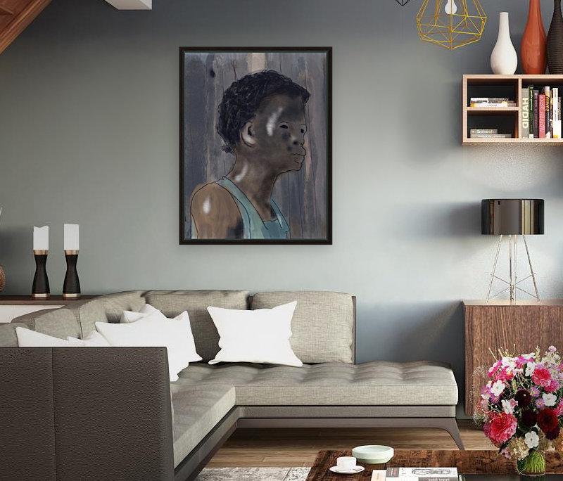 Whitney Plantation Slave Girl 5  Art