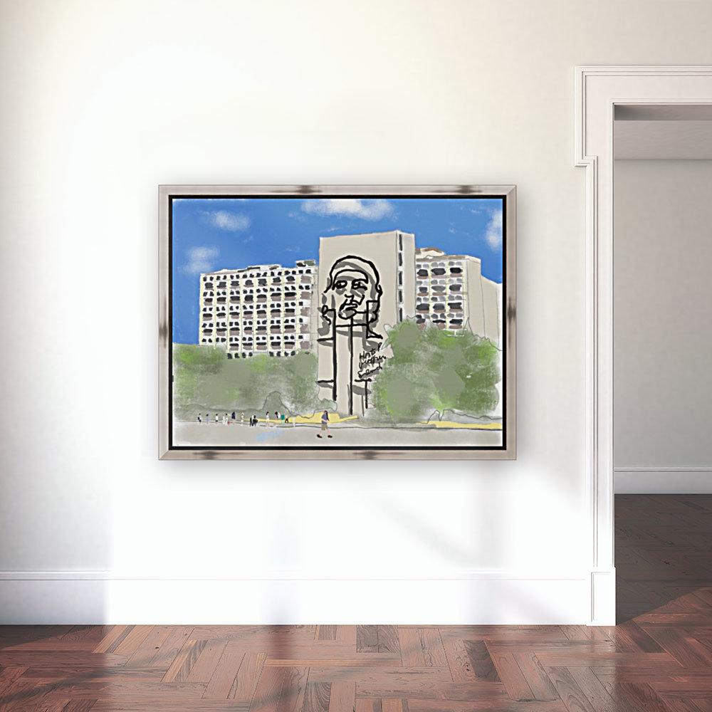 Cuba Revolution Square  Art