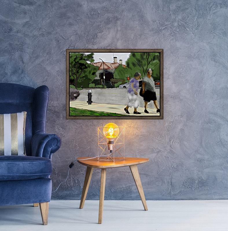 Lexington Louise and Friend  Art