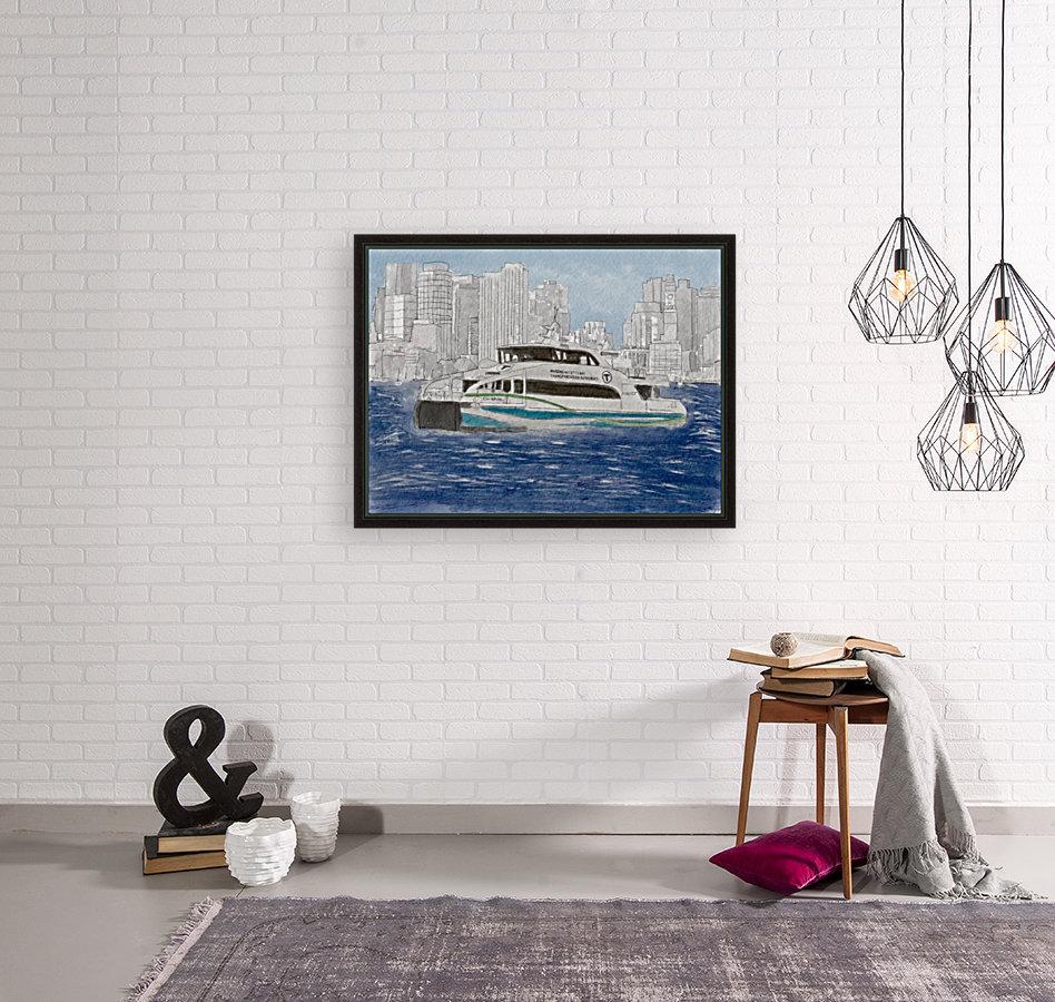 MBTA Hingham-Hull Ferry  Art