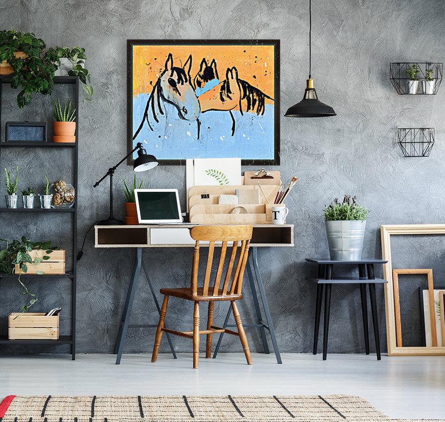 Horses.Davey K.  Art
