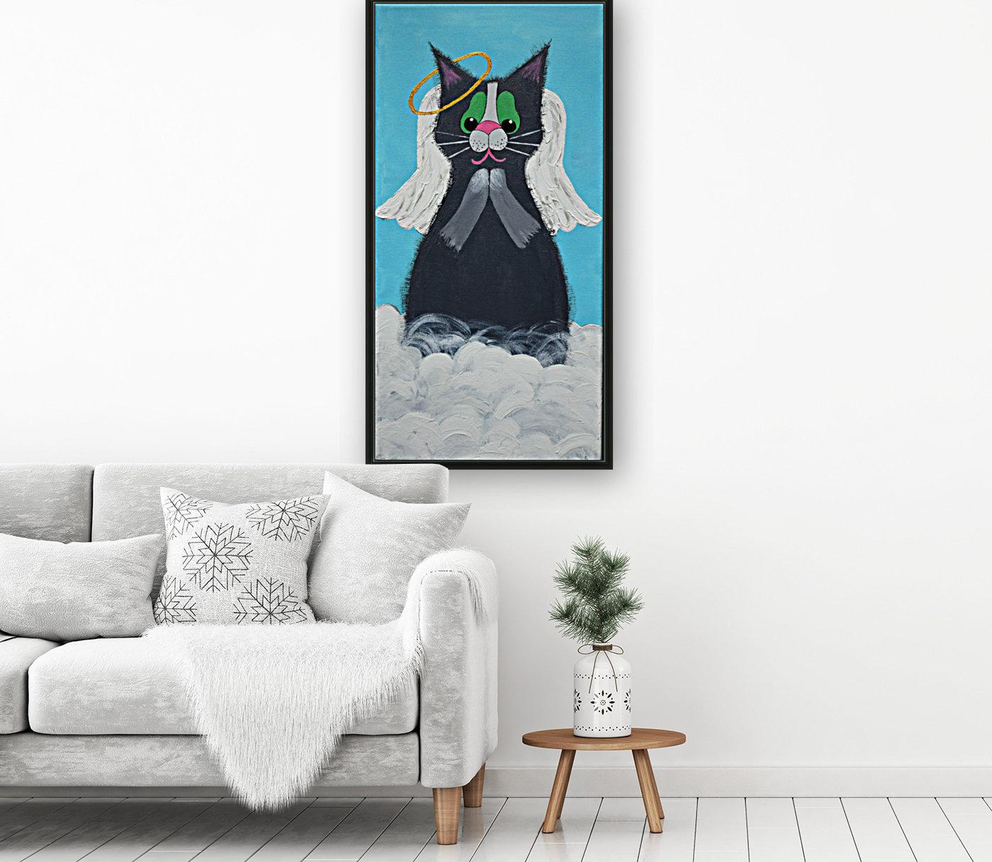 Angel Cat. Heather S.  Art