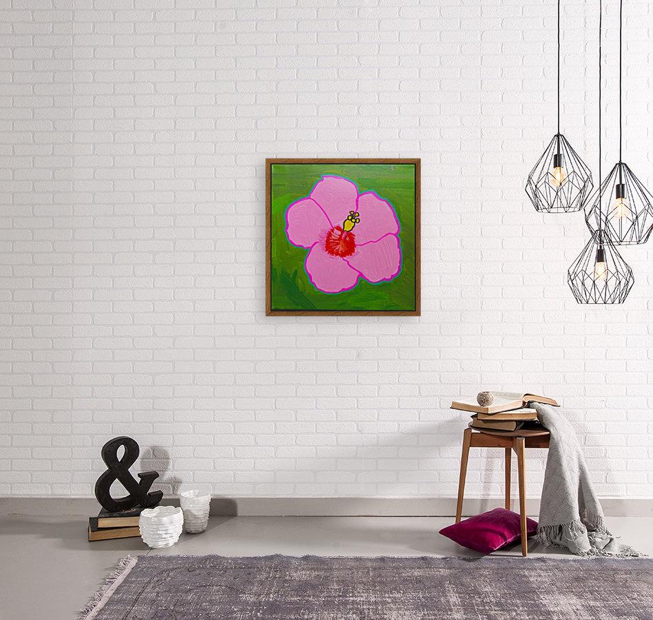 Hibiscus. Annie F  Art
