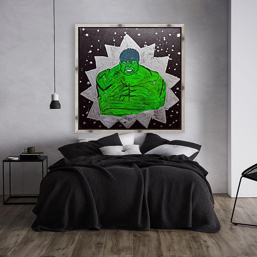 Hulk. Brandon C  Art