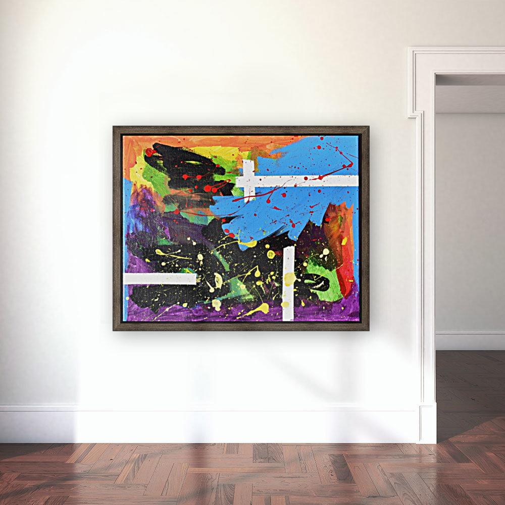 Bright Abstract. Walker W.  Art