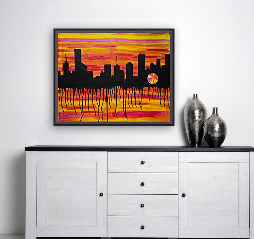 Melting City. Maggie Z  Art