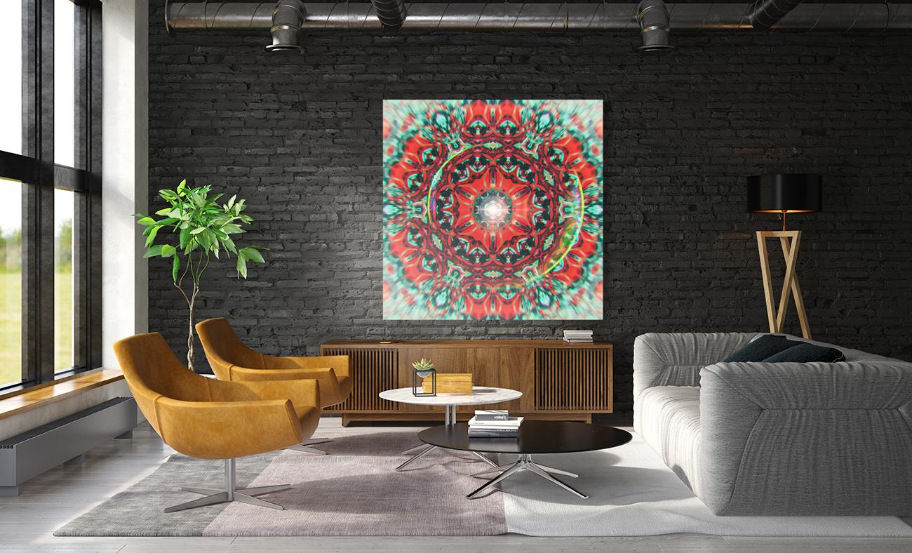 Abstract Mandala I  Art