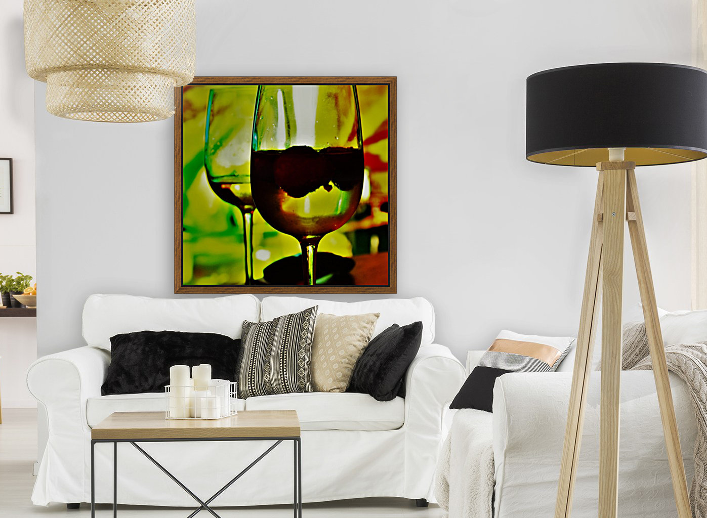 winedown with Floating Frame