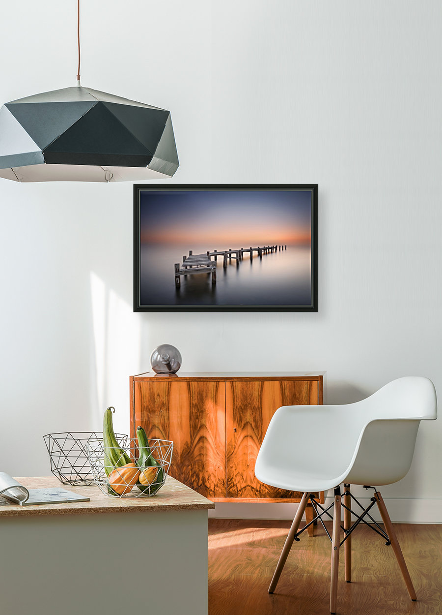 Old pier II with Floating Frame