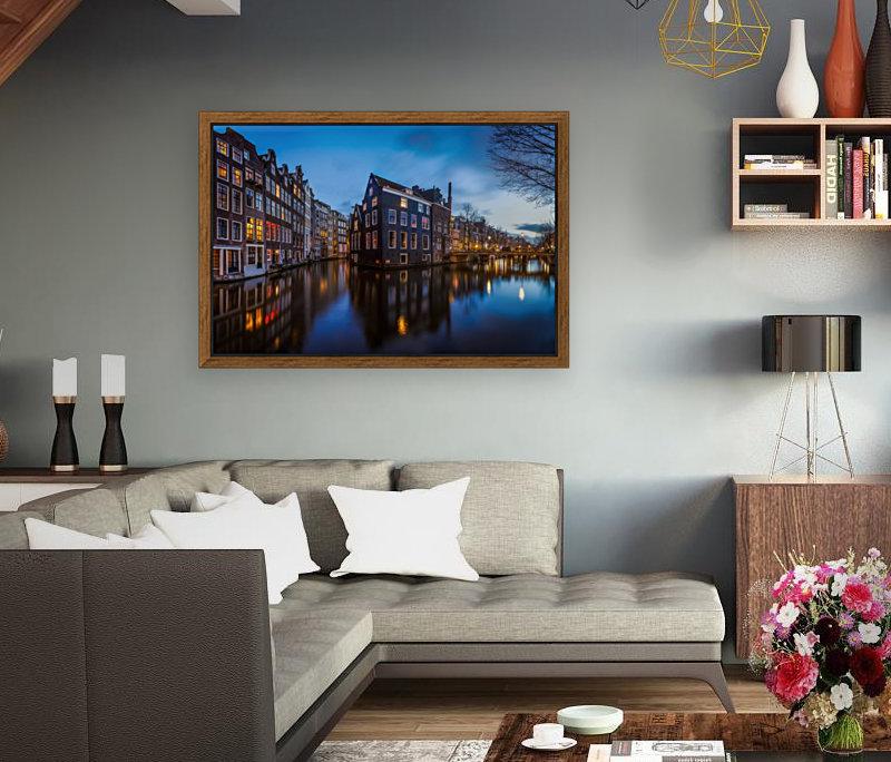 Blue Amsterdam  Art