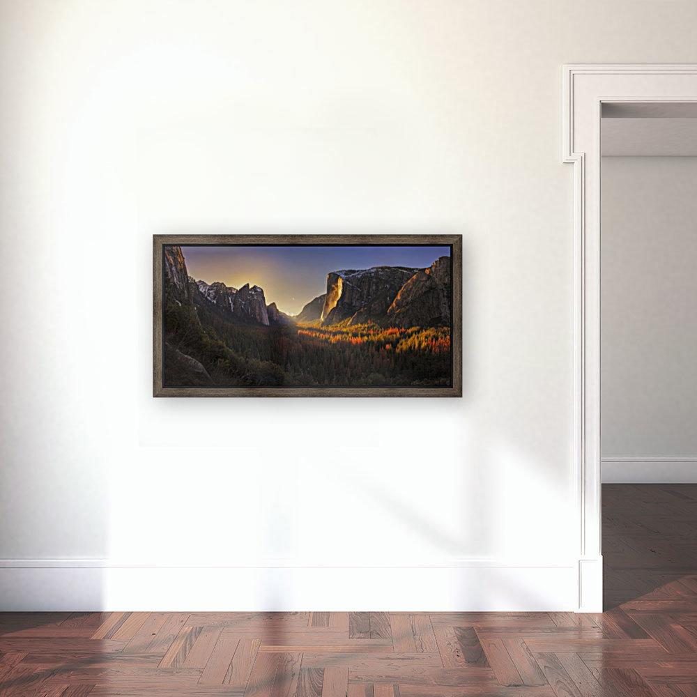 Yosemite Firefall  Art
