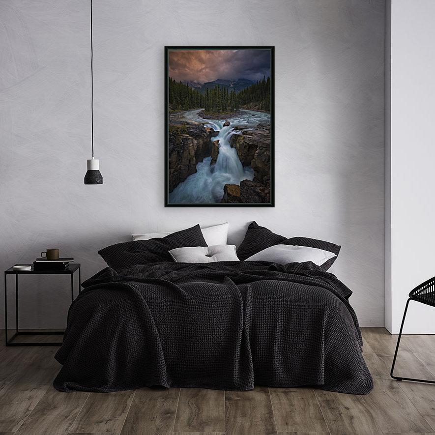 Sunwapta Falls  Art