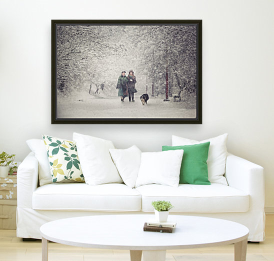 Snow storm charm  Art
