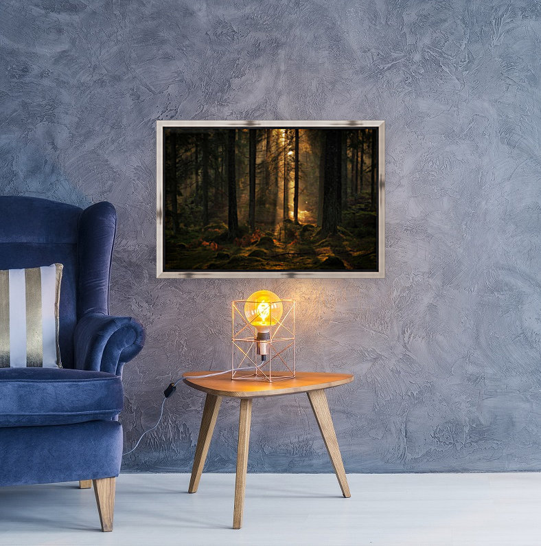 The light in the forest  Art