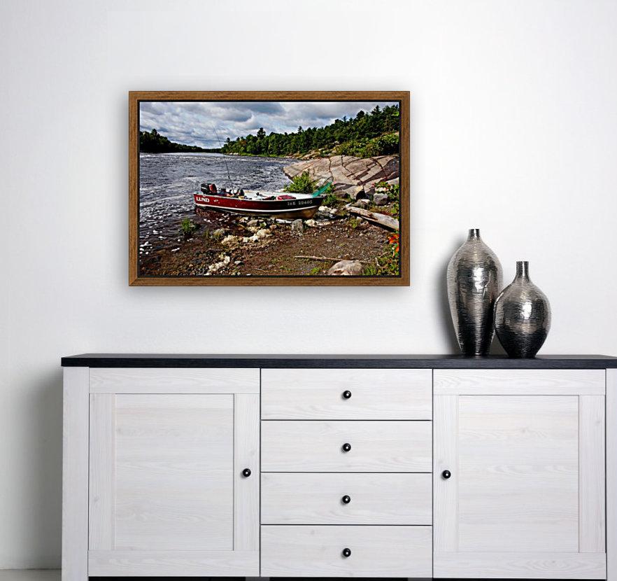 Fishing And Exploring  Art