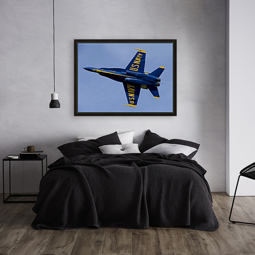 U.S. Navy flight demonstration squadron the Blue Angels.  Art