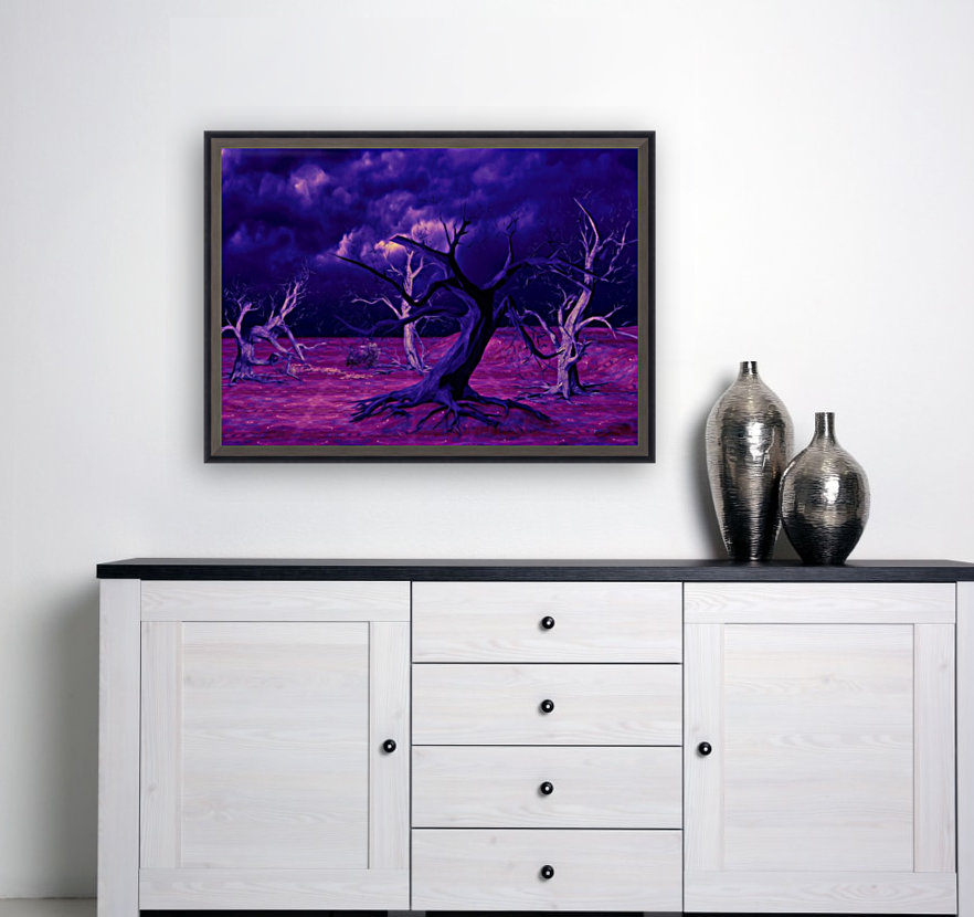 PURPLE FOREST  Art