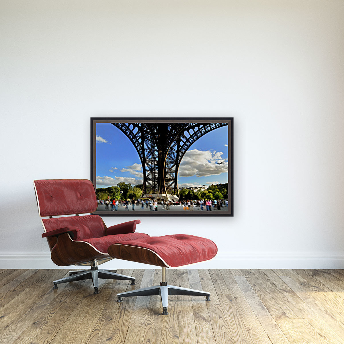 Life under the Eiffel Tower  Art