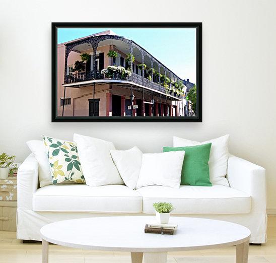 New Orleans Balcony  Art