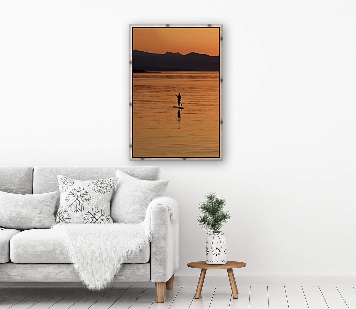 The paddleboarder  Art