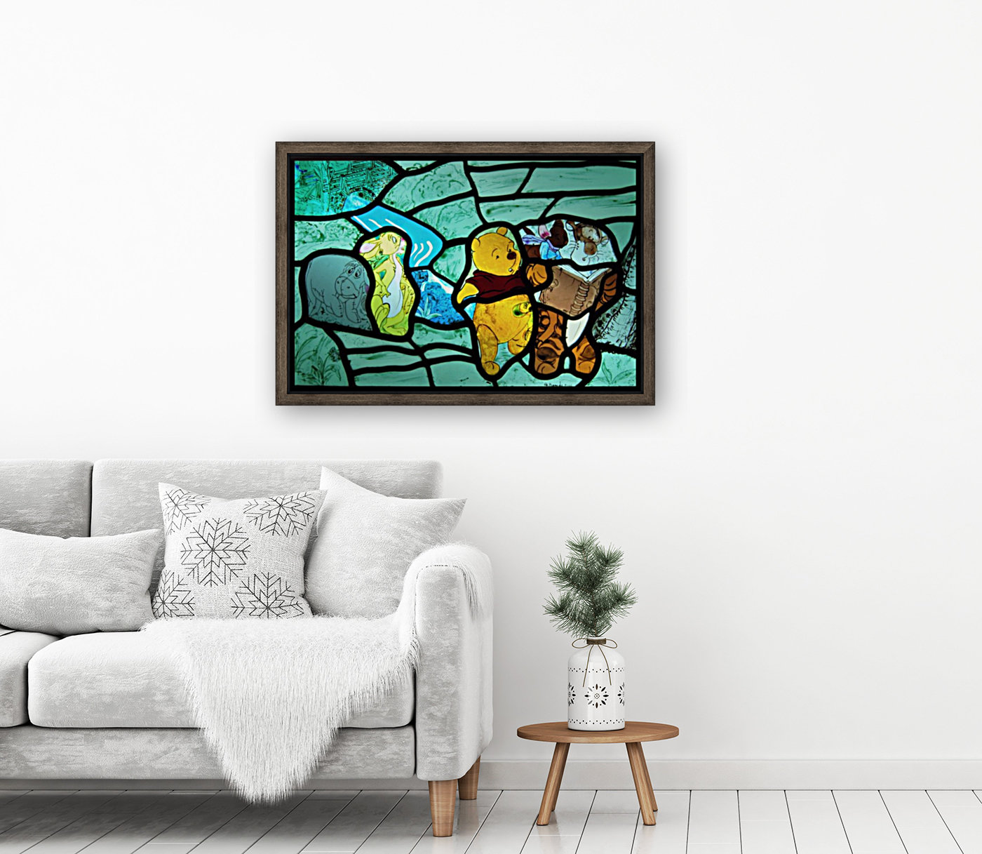 Winnie the Pooh 1 with Floating Frame
