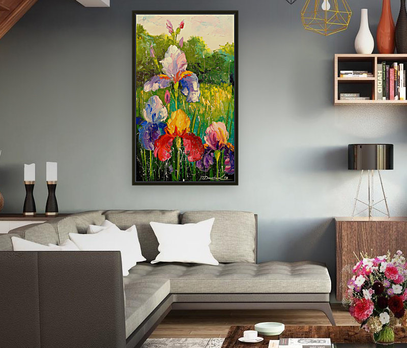 Irises  Art