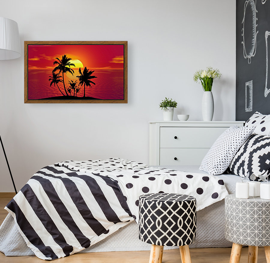 tropical 1651423 with Floating Frame