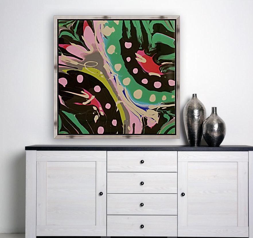 Tropical Branch Jade  Art