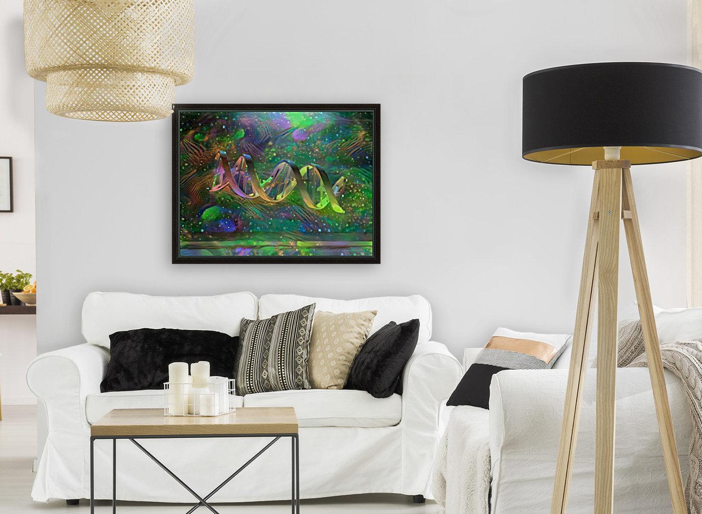 DNA Strand Artwork  Art